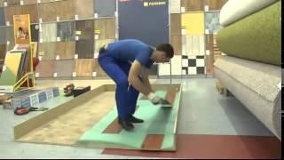 Видеоурок: укладка ламината своими руками