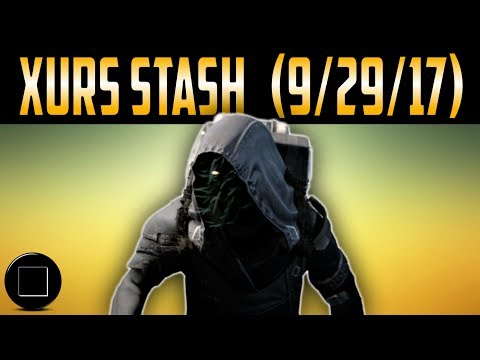 Destiny 2 - Xurs Stash (9/29/17)