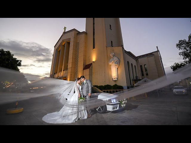 { Jay-jay + Erin } Brentwood Suites QC and Sto Domingo Church | Wedding Videography Philippines