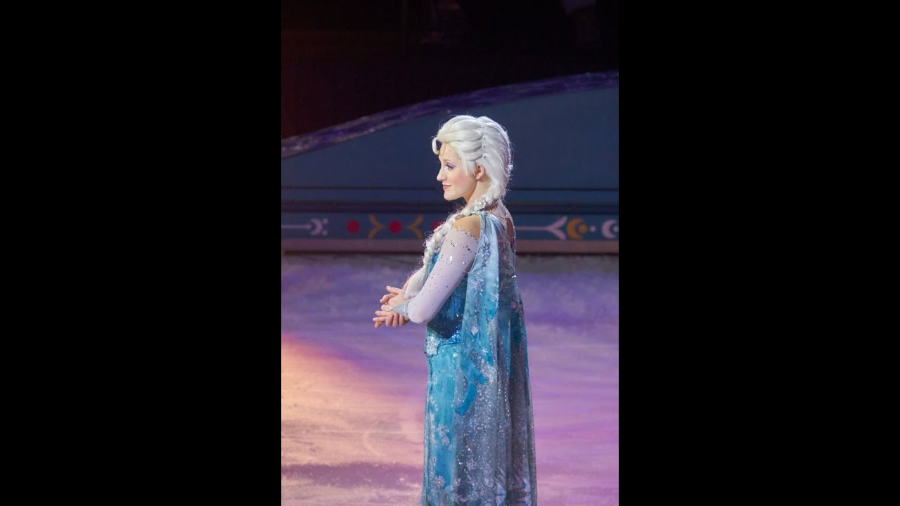 Disney Frozen On Ice Let It Go Youtube