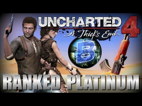 "Uncharted 4 ""Old School"" Platinum Ranked Multi-player"