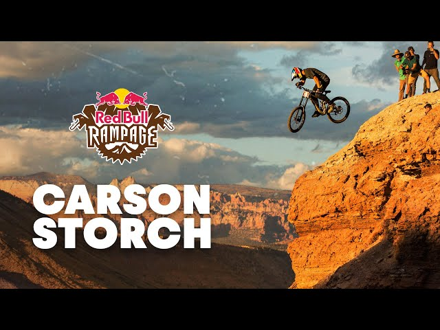 Carson Storch's Process at Red Bull Rampage 2019