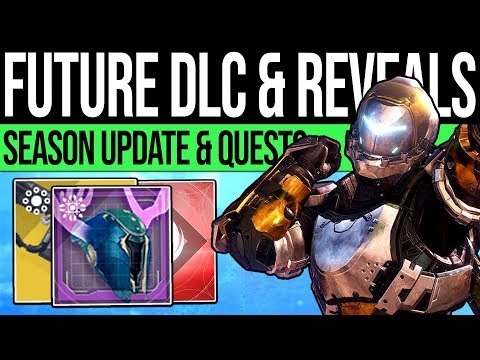 Destiny 2   DLC REVEALS & EVENT QUESTS! Season 7 Updates, Free Exotic Quest, Damage Glitch & More! thumbnail