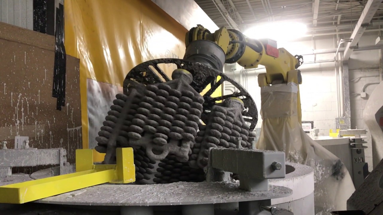 Robotic Investment Casting - Shelling System (3/7)