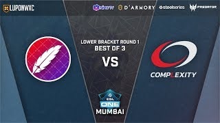 Complexity Gaming vs The Pango Game 1 (BO3) | ESL One Mumbai 2019 Lower Bracket