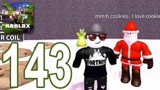 ROBLOX - Gameplay Walkthrough Part 143 - Escape The North Pole Obby (iOS, Android)