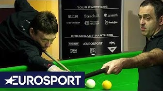 Shots Recreated: O'Sullivan and White Takes on Trump's Exhibition | Snooker | Eurosport