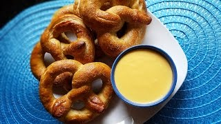Homemade Soft Pretzels & Beer Cheese Sauce - What