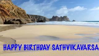 Sathvikavarsa   Beaches Playas - Happy Birthday