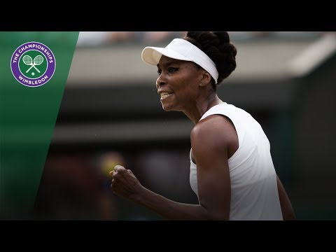 Venus Williams v Naomi Osaka highlights - Wimbledon 2017 third round