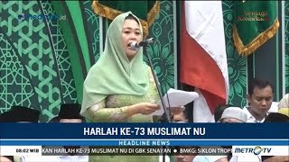 Download Video Pidato Yenny Wahid di Harlah ke-73 Muslimat NU di GBK MP3 3GP MP4