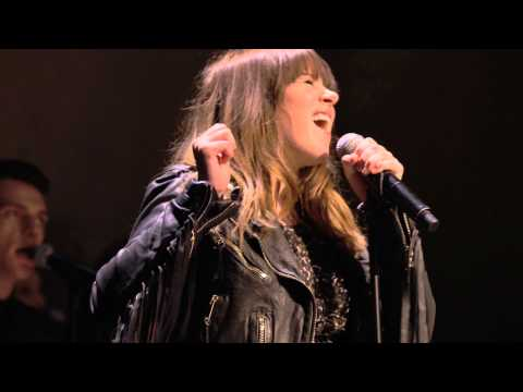 Clare Maguire performs live at the Burberry Womenswear A/W15 show
