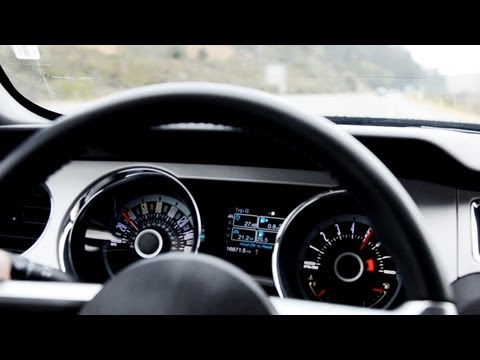 2013 Mustang 0-60 MPH Travel Video