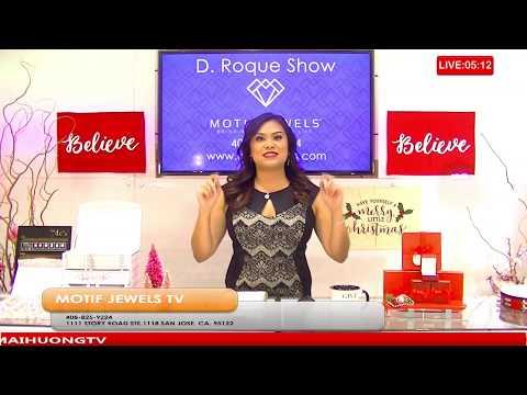 """MOTIF JEWELS JEWELRY TV """"D. Roque Live Talk Show"""""""