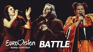 Eurovision BATTLE 2018 vs 2017 vs 2016 | My Favourites