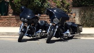 Harley Road Glide vs Street Glide