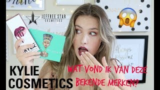 MAKE UP TESTEN EN GIVEAWAY KYLIE EN JEFFREE STAR COSMETICS 💥JOY BEAUTYNEZZ💥