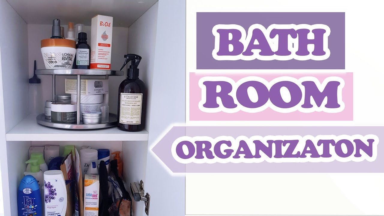 badezimmer organisieren meine tipps f r mehr stauraum im bad bathroom organization youtube. Black Bedroom Furniture Sets. Home Design Ideas