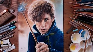 Newt Scamander - Fantastic Beasts and Where to Find Them | drawholic