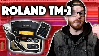 Roland TM-2 - How Do We Record Triggers With It?