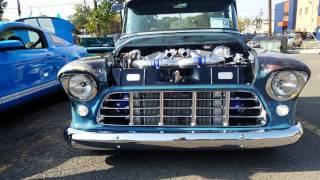 1955 CUSTOM CHEVY 3100 PICK-UP TRUCK LS2 TWIN TURBO 1200 HP