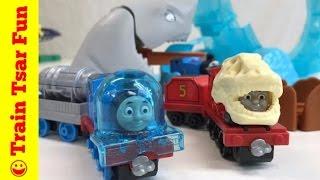 THOMAS & FRIENDS ADVENTURES Shark Escape! Dino James! Space Thomas! NEW!