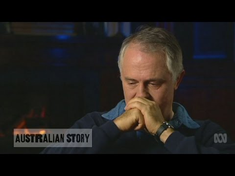Malcolm Turnbull describes losing his father