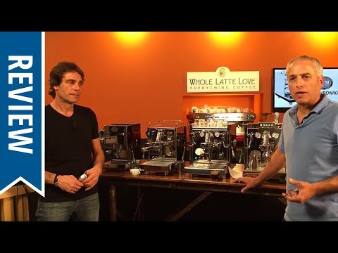 Live Review: ECM Espresso Machines and Coffee Grinders