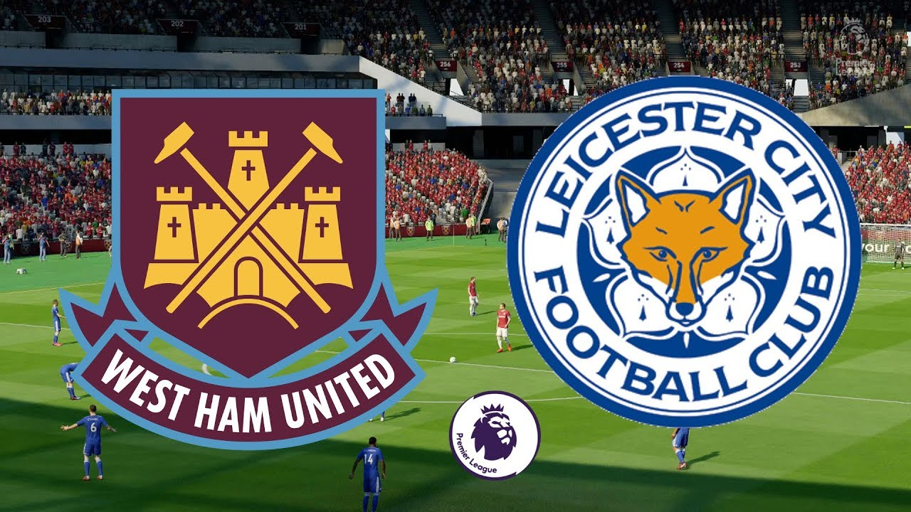 Premier League 2018 19 West Ham Vs Leicester City  Fifa 19