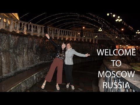 DAY 1- Welcome to MOSCOW, RUSSIA!!!!!