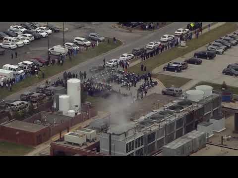 Procession for Deputy Jacob Pickett