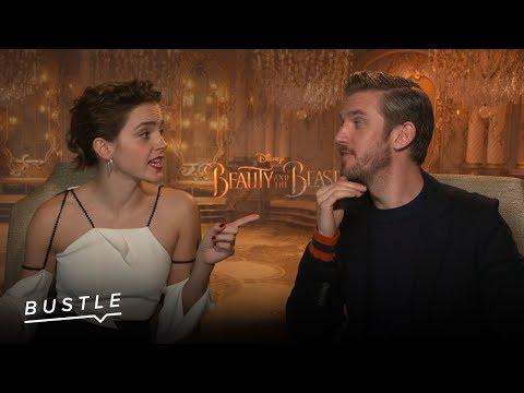 'beauty And The Beast' Stars Play Finish The Disney Lyric