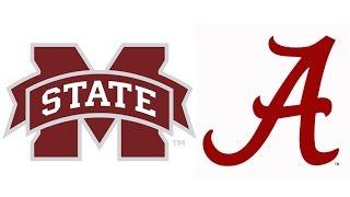 2016 Mississippi State at #1 Alabama (Highlights)