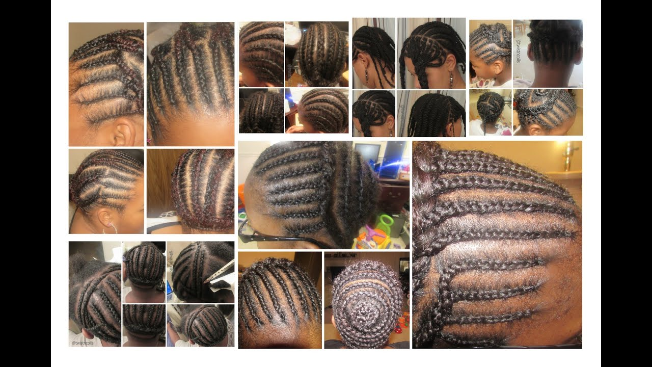 Crochet Patterns Hairstyles : TnC - 16 ? Braid Patterns for Different Crochet Styles - YouTube