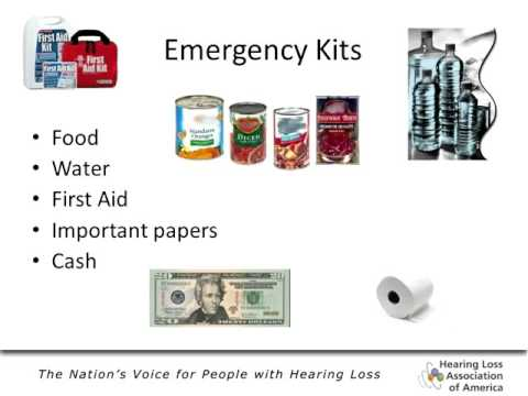 WEBINAR: Are You Ready? Emergency Preparedness for People with Hearing Loss