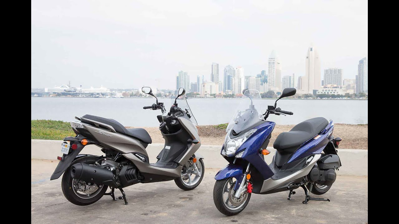 Yamaha Smax Scooter Review