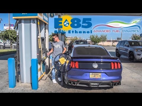 INSTANT Power GAINS With This E85 Flex Fuel KIT (ScatPack Vs 5.0)