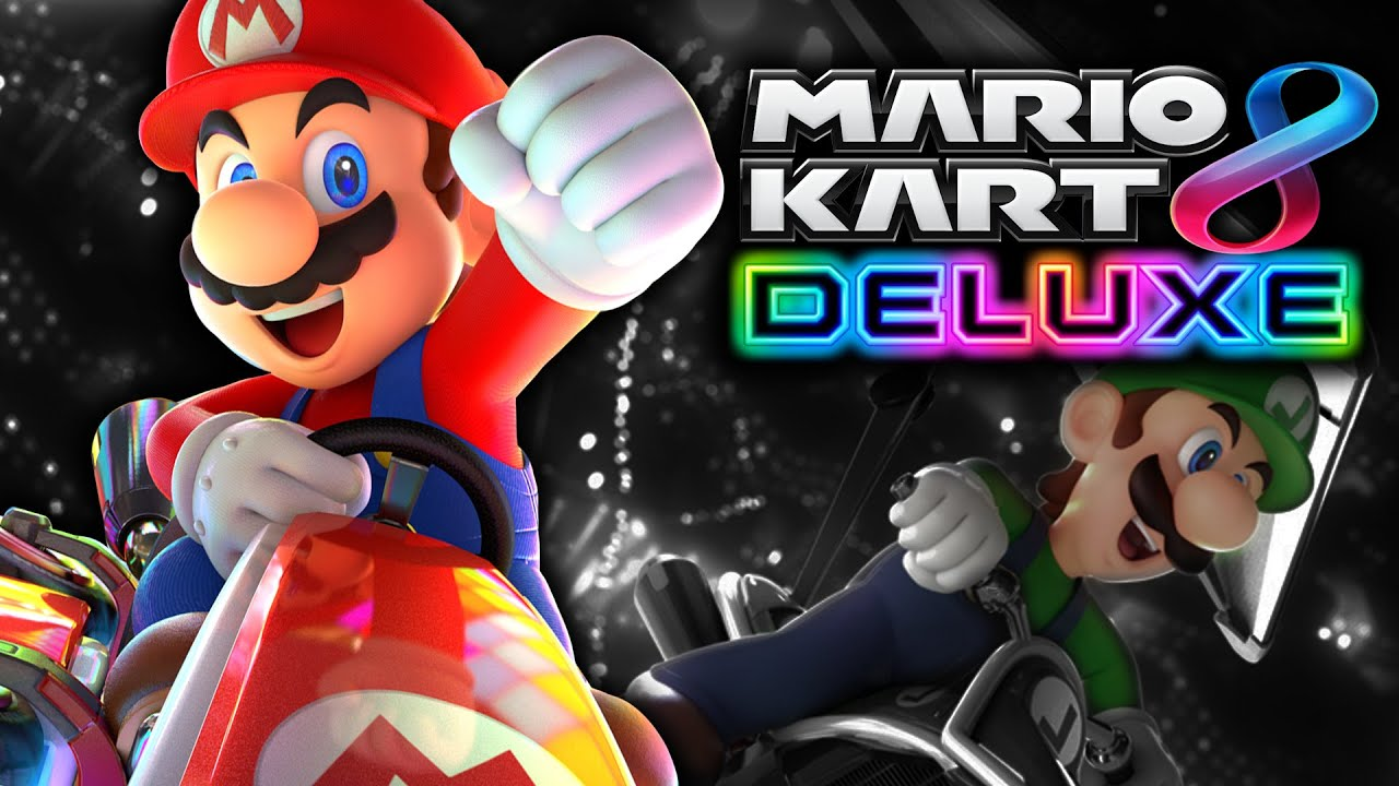 Mario Kart 8 Deluxe (Nintendo Switch) James and Mike Mondays