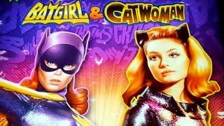 Batgirl & Catwoman Slot - BIG WIN BONUSES - All Features Longplay!