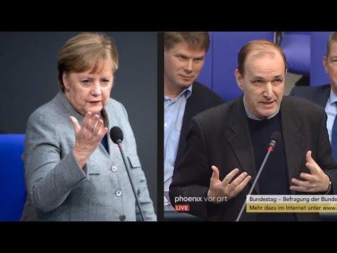 """Curio Zu Merkel: """"Erkennen Sie Ihre Persönliche Schuld An?"""" - Befragung D Bundesregierung 18.12.2019"""