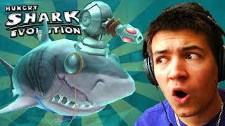 BUYING NEW GADGETS!! - Hungry Shark Evolution #4 - EPIC COIN SPENDING!