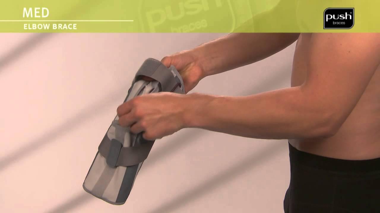Push Braces | med Elbow Brace