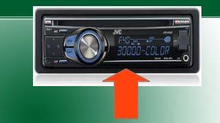 AUTO ESTEREO JVC KD-R530 BLOQUEADO