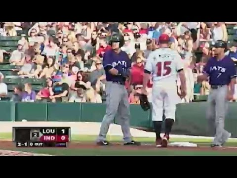 South Bend's Ayala hits clutch single in ninth from YouTube · Duration:  38 seconds