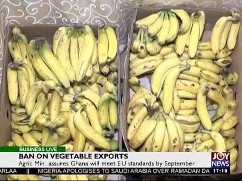 Ban on vegetable exports - Business Live on JoyNews (16-6-17)