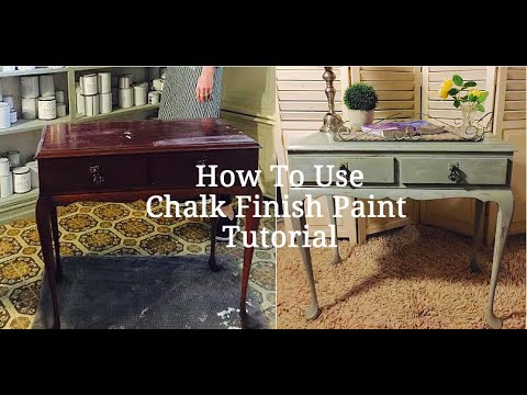 How To Use Chalk Paint Tutorial