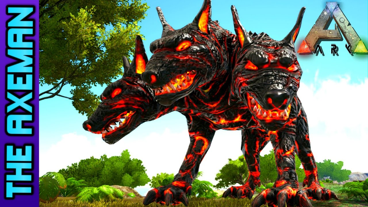 EPIC MYTHICAL CREATURES MOD | ARK SURVIVAL EVOLVED - YouTube