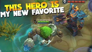 NEW Hero Grock Gameplay New Lord Rework Mobile Legends Update