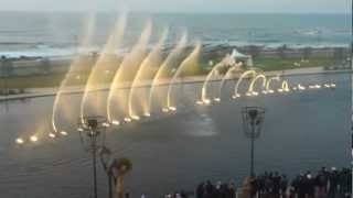 Musical Fountain Morocco Mall - SWAY by Michael Buble