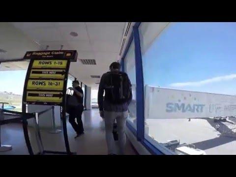 Deplaning at Laguindingan Airport Terminal